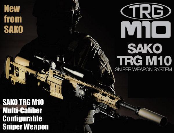 Fuzil de alta precisão SAKO TRG M10