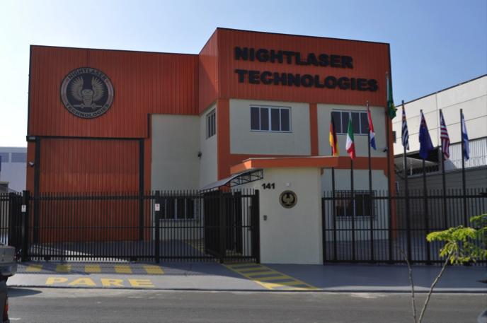 Galeria das instalações Nightlaser